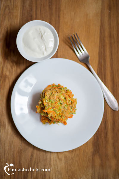 carrot-zucchini-fritters